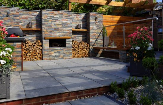 Natural Stone & Porcelain Paving